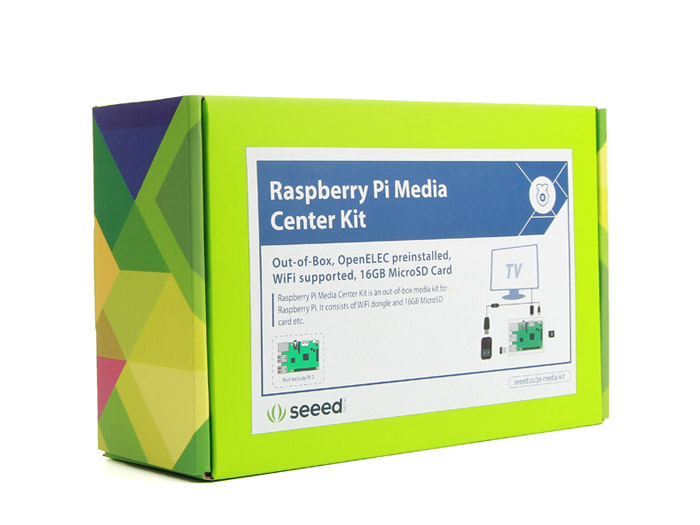 Raspberry Pi Media Center Kit